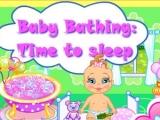 Baby Bathing Time to Sleep