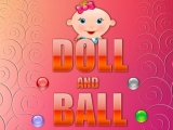Doll and Ball - Шарики и кукла