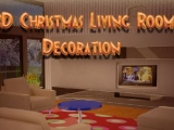 3D Christmas Living Room
