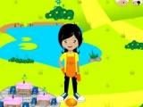 Flash игра для девочек Dapoer Lava
