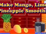 Лимонно-манго-ананасовый сок