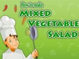 Готовим овощной салат