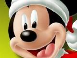 Mickey Santa Claus