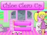 flash игра Chloe Clean Up