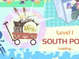 Flash игра для девочек Ami Yumi Snow Scooter