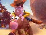 Woody y Tiro al Blanco Corriendo