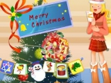 Flash игра для девочек Christmas Tree Decoration 2