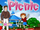 flash игра Family Picnic Decoration