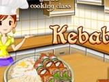 Flash игра для девочек Готовим кебаб