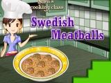 Flash игра для девочек Тефтели по-шведски