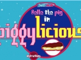 Belle The Pig In Piggy Licious