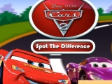 flash игра Cars 2 - Spot the Difference