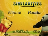 Similarities - Winnie and Panda