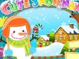flash игра Cute Snowman