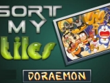 flash игра Sort My Tiles Doraemon