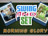 Flash игра для девочек Swing and Set Morning Glory