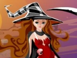 flash игра Witch Jigsaw Puzzle