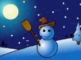 Flash игра для девочек Snowman Puzzle