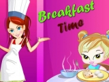 Flash игра для девочек Breakfast Time