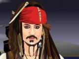Flash игра для девочек Jack Sparrow Dress Up