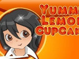 Flash игра для девочек Yummy Lemon Cupcake