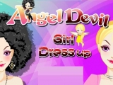 Angel Devil Girl Dress Up