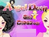 Flash игра для девочек Angel Devil Girl Dress Up