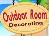 flash игра Outdoor Room Decorating Game