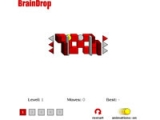 flash игра Brain Drop