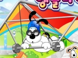 flash игра Puppy delta flying