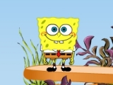 flash игра SpongeBob Squarepants. See Saw Mania