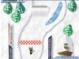 Flash игра для девочек Ледовая трасса