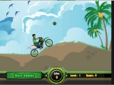 flash игра Ben 10 Motocross 2