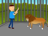 flash игра Lion cage escape