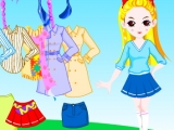 Colorful Doll Dress Up