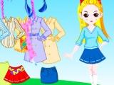 Flash игра для девочек Colorful Doll Dress Up