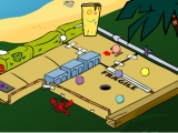 Flash игра для девочек Cartoon Cove Mini Golf