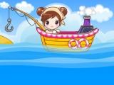Flash игра для девочек Sue Fishing Queen