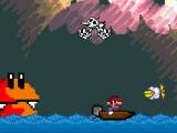 flash игра Super Mario Boat Bonanza