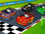 Flash игра для девочек Racing Cartoon Differences