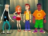Flash игра для девочек Funny Elevator