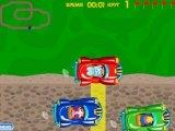 Flash игра для девочек Весёлые гонки