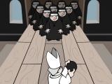 Flash игра для девочек Bowling Nuns