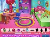 flash игра Убраться в комнате Джейн