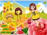 Bee girl dress up