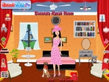 flash игра Decorate Hanah room