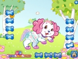 flash игра Dress up your  pet dog