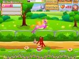 flash игра Пони гонки