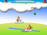 Flash игра для девочек Winx Club Alfea funny see saw