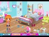 flash игра Cutie Trend Yuki's Cleaning Day